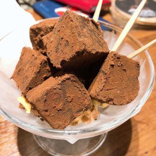 スモークチョコレート (怪獣酒場 新橋蒸溜所)
