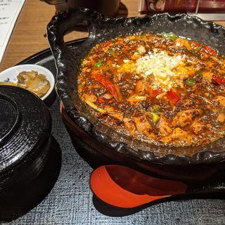 激辛陳麻婆豆腐セット