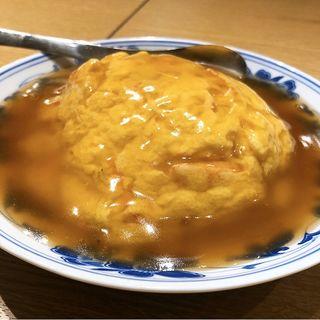 蟹玉ご飯(秋華)