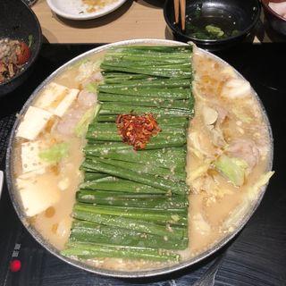 もつ鍋(博多もつ鍋おおやま 大阪駅店 )
