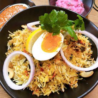 ハイデラバードビリヤニ(南インド家庭料理 インダスレイ (IndusRay))