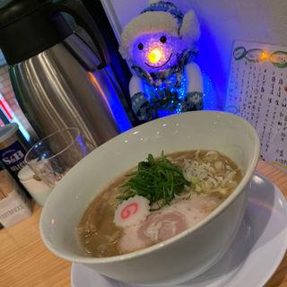 鶏そば醤油(中華そば桐麺)