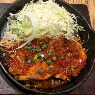 赤トンテキ定食(東京トンテキ ヨドバシAkiba )