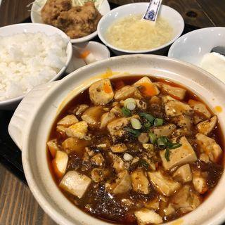 麻婆豆腐定食(芙蓉苑 神戸三宮店)