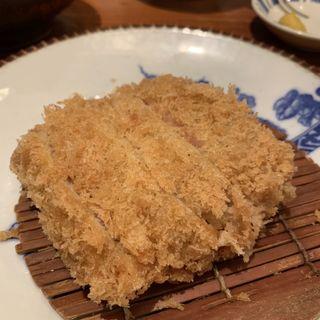 ヒレカツ盛り合わせ(カキフライ&カニクリームコロッケ)(かつ吉 新丸ビル店 (カツキチ))