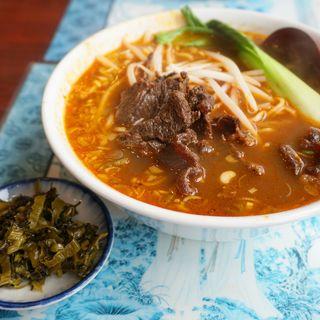 牛肉麺(台湾飯店)