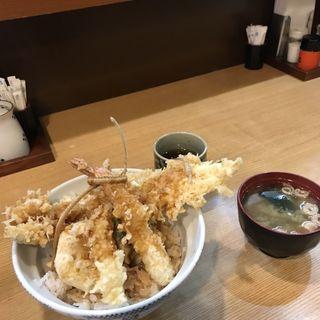 穴子海老天丼(はちまき )