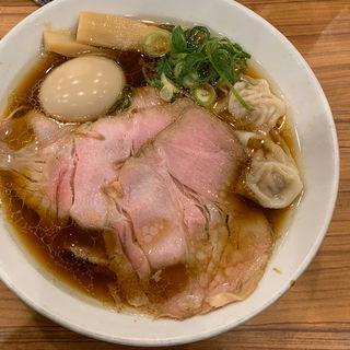 丸鶏特製(中華そば ココカラサキゑ)