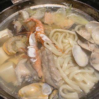 海鮮ちゃんぽん鍋(勇旬 いか太郎 )