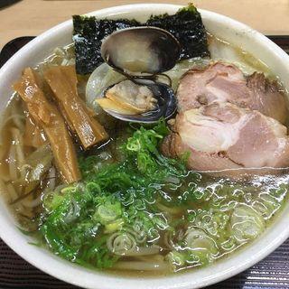 魚醤ラーメン 太麺