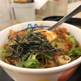 ビビン丼(松屋 池袋サンシャイン通り店 )