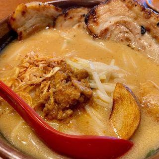 味噌漬け炙りチャーシュー麺(麺場 田所商店 宮前店)