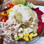 低糖質麺サラダ