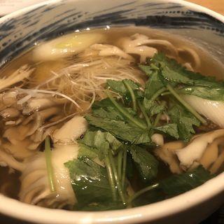 舞茸蕎麦(九頭龍蕎麦 はなれ )