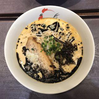 黒い鶏白湯 味噌