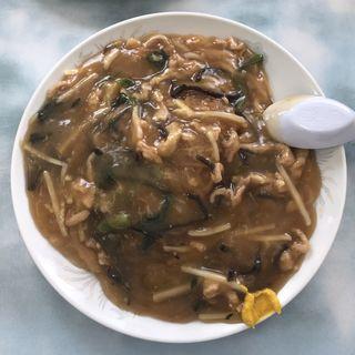 肉細切り焼きそば(醤油)ハーフ(龍鳳)