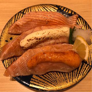 炙りサーモントロ三昧(大起水産回転寿司 京都伏見店 )