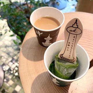 生茶の菓アイスバー(マールブランシュ 京都タワーサンド店)
