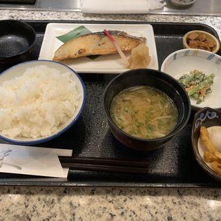 鰆の粕漬け定食(魚久 人形町店 )