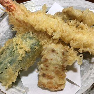 天ぷら盛り合わせ 上