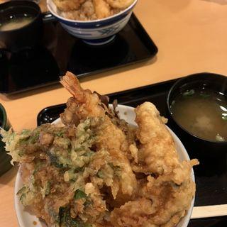 牡蠣・海老天丼