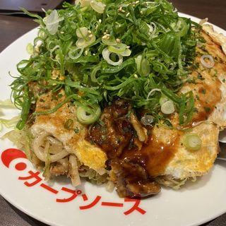 肉玉そばorうどん(花子 飯田橋店 )