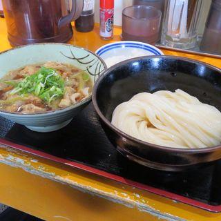 豚バラ肉の肉汁つけ麺(空飛ぶうどん やまぶき家 )