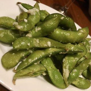 枝豆ペペロンチーノ(ビストロます家 札幌店)