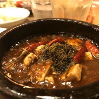 激辛麻婆豆腐(麻婆豆腐・チャーハン ロンフーダイニング 博多1番街店)