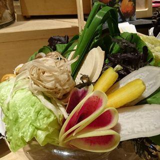 野菜しゃぶしゃぶ