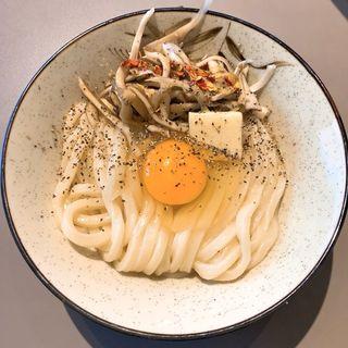 まいたけ釜バター(Udon kyutaro)
