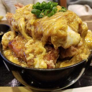 カラアゲ丼(ポミエ )