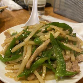 青椒肉絲(四川亭 )