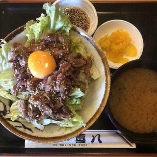 ユッケ丼(和風レストラン 喜八 )