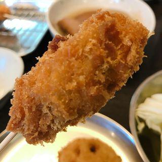 串カツ 牡蠣