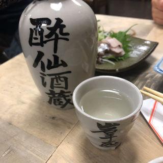 酔仙 熱燗2合(岩手屋本店 )