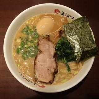 らーめん(味付玉子)(豚骨醤油らーめん まぼろし)