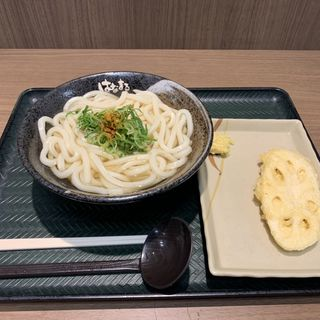 かけうどん(はなまるうどん 札幌エスタ店)