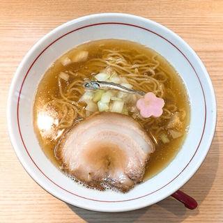 煮干し中華そば〜煮干しちゃん〜(拉麺開花)