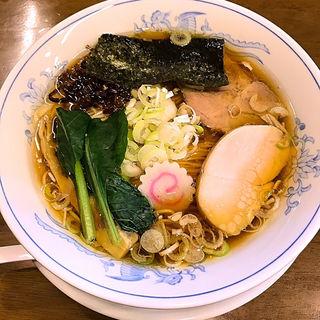 醤油ラーメン(ら~めん曳舟)