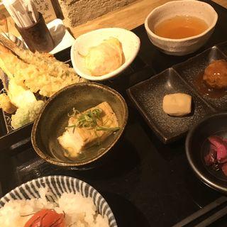 天ぷら定食(天ぷら 市)