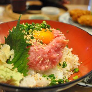ネギトロ丼(銀座虎杖 )