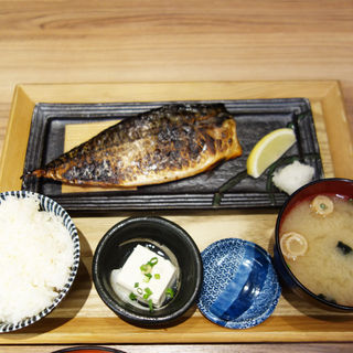 トロさばみりん焼き定食(喜水亭 和樂 天神店)