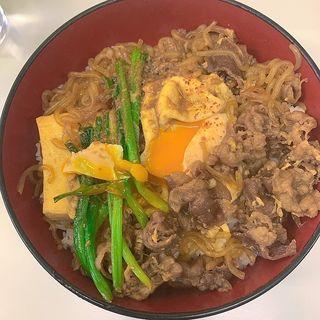 すき焼き丼(竹之家)