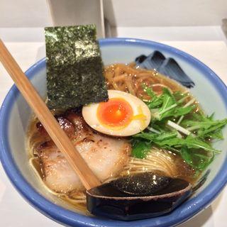 柚子しょうゆラーメン(AFURI 新宿店)