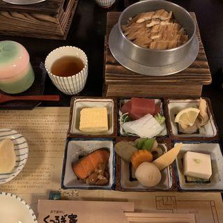 穴子釜飯(くつろぎ家)