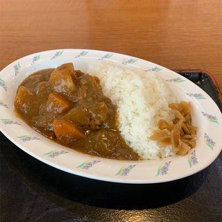 カレー(大衆食堂 半田屋 新道丘珠店 (はんだや))