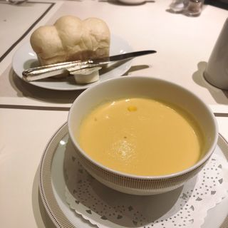 コーンスープ(ディナーセット)(パークサイドダイナー(帝国ホテル))