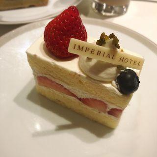 ショートケーキ(パークサイドダイナー(帝国ホテル))