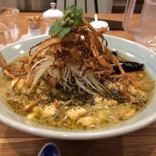 ぶどう山椒の麻婆麺